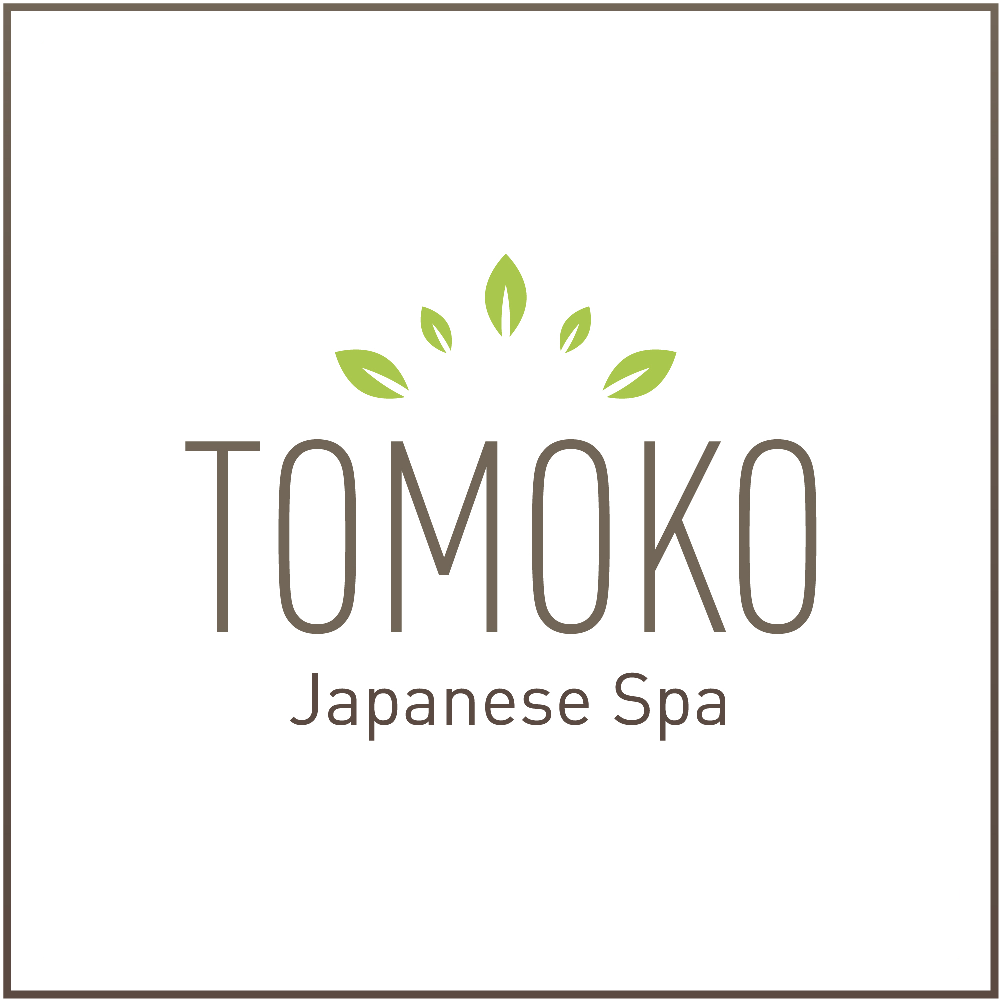 Tomoko Japanese Spa Logo